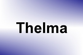Thelma name image