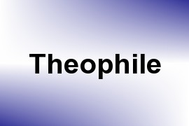 Theophile name image