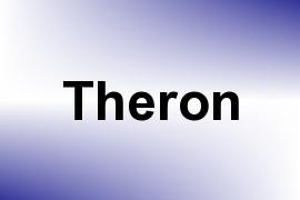 Theron name image