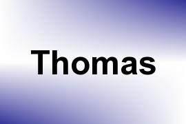 Thomas name image
