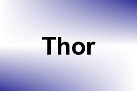 Thor name image