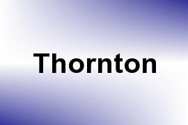 Thornton name image