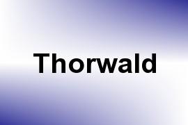 Thorwald name image