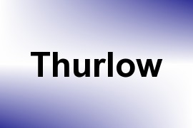 Thurlow name image