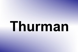 Thurman name image