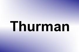 Thurman name image