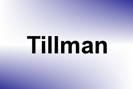 Tillman name image