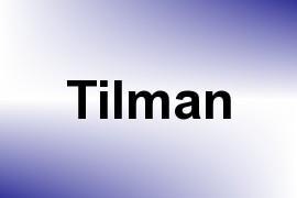 Tilman name image