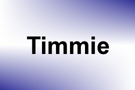 Timmie name image