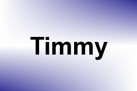 Timmy name image