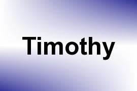 Timothy name image