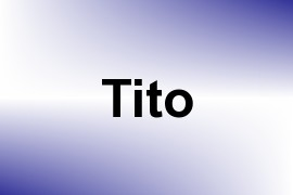 Tito name image