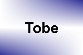 Tobe name image