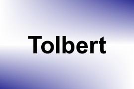 Tolbert name image