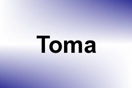 Toma name image