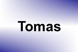 Tomas name image