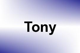 Tony name image