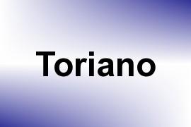 Toriano name image