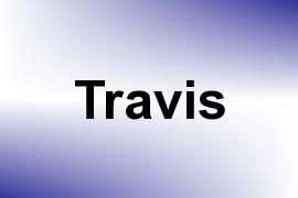 Travis name image