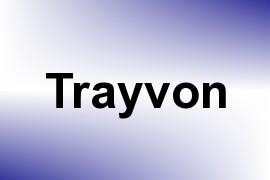 Trayvon name image