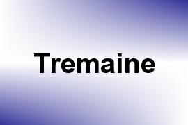Tremaine name image
