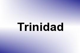 Trinidad name image