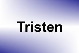 Tristen name image