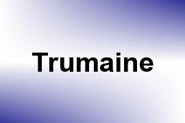 Trumaine name image