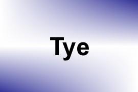 Tye name image