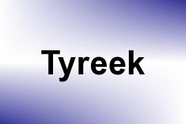 Tyreek name image