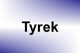 Tyrek name image