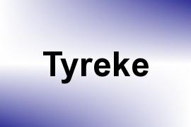Tyreke name image