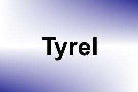 Tyrel name image