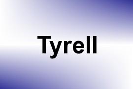 Tyrell name image