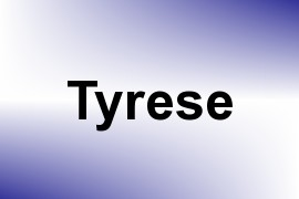 Tyrese name image