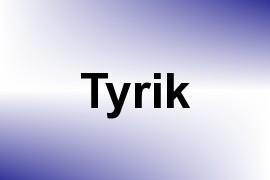 Tyrik name image
