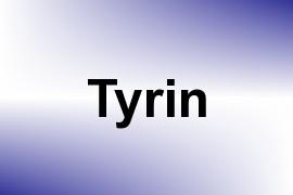 Tyrin name image