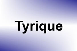Tyrique name image