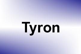 Tyron name image