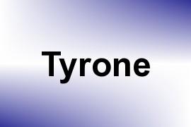 Tyrone name image