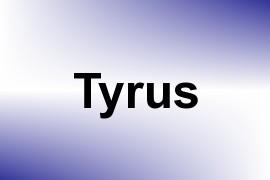 Tyrus name image