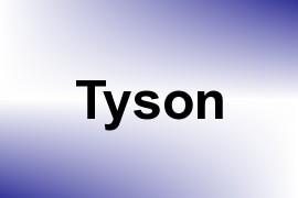 Tyson name image