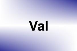 Val name image