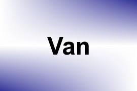 Van name image
