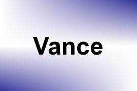 Vance name image