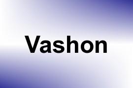 Vashon name image