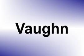 Vaughn name image