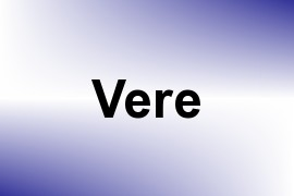 Vere name image