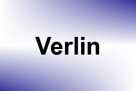 Verlin name image