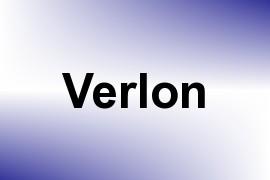 Verlon name image